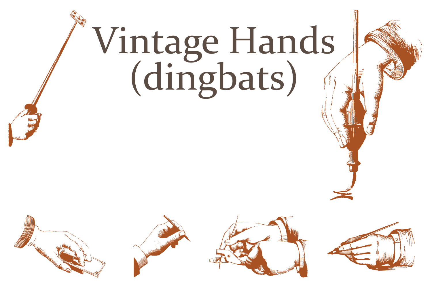 Vintage Hands example image 2