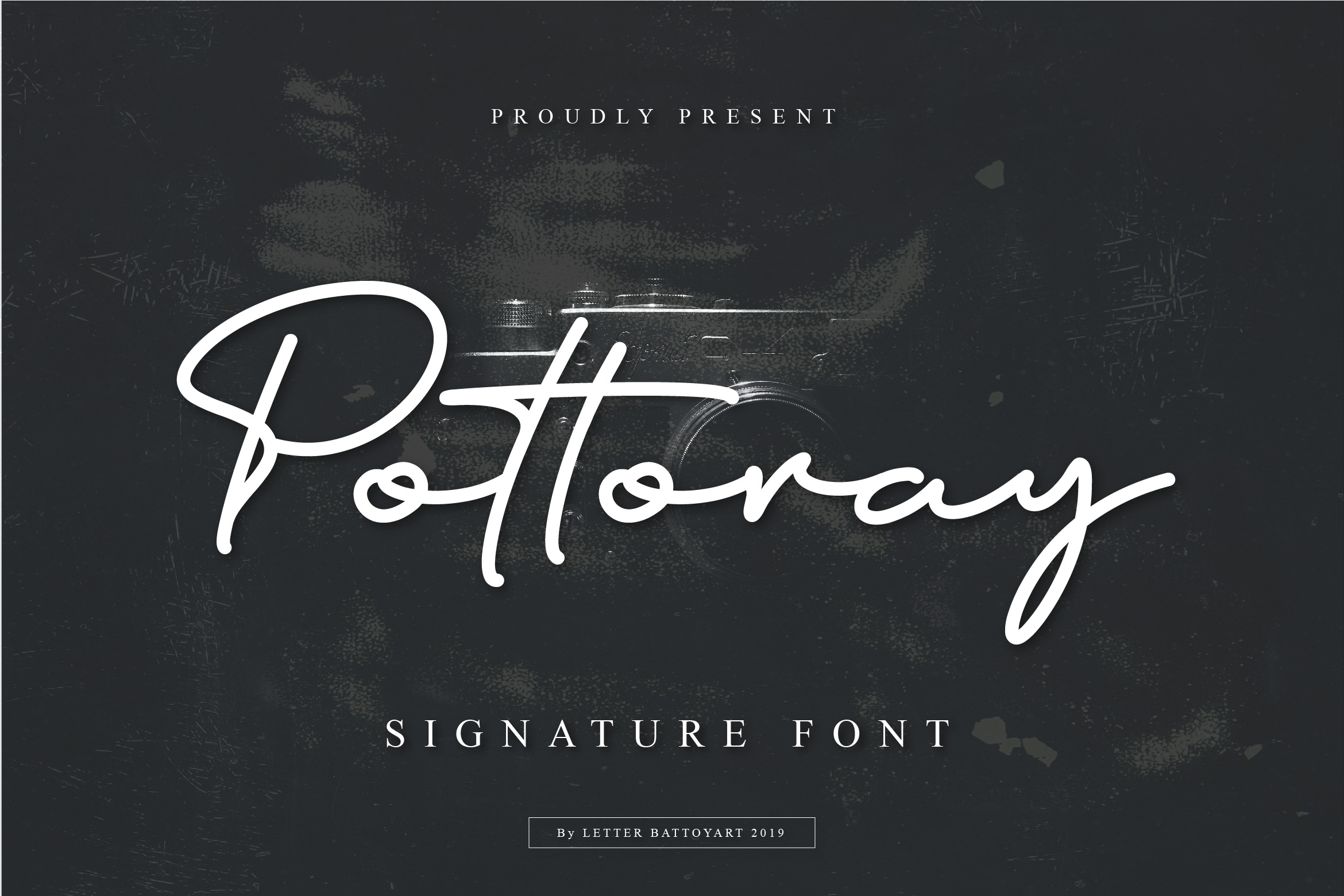 Pottoray - Signature Font example image 1