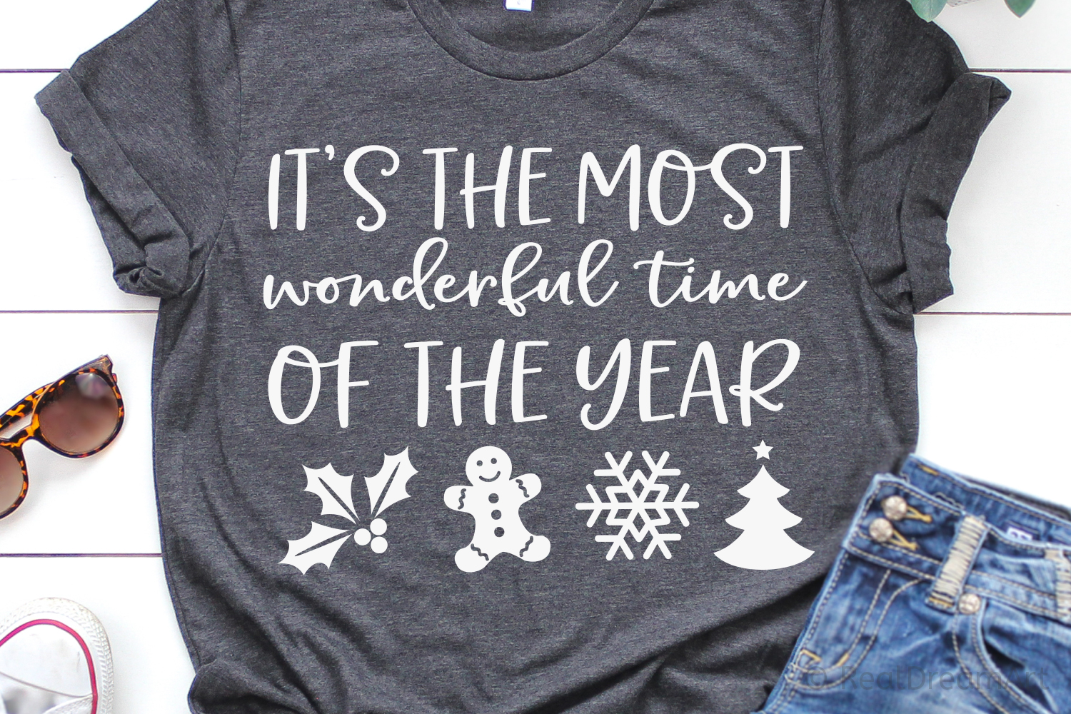 Its the Most Wonderful Time of the Year SVG, DXF, PNG, EPS example image 1