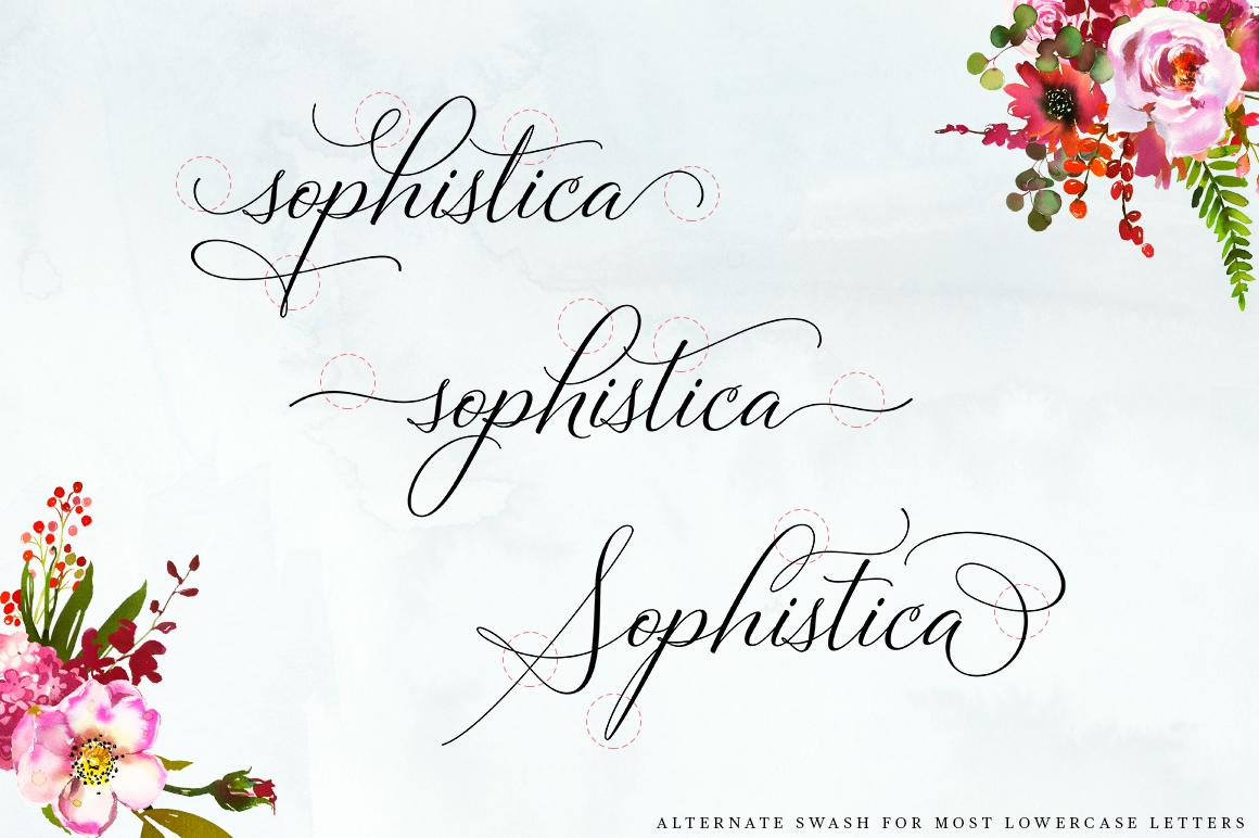 Bettrisia Script - Elegant Calligraphy Font example image 7