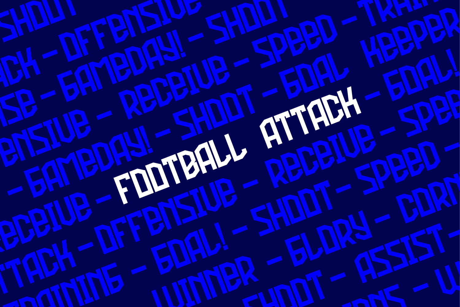 Football Attack example image 3