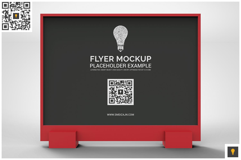 Flyer Display Mockup example image 12