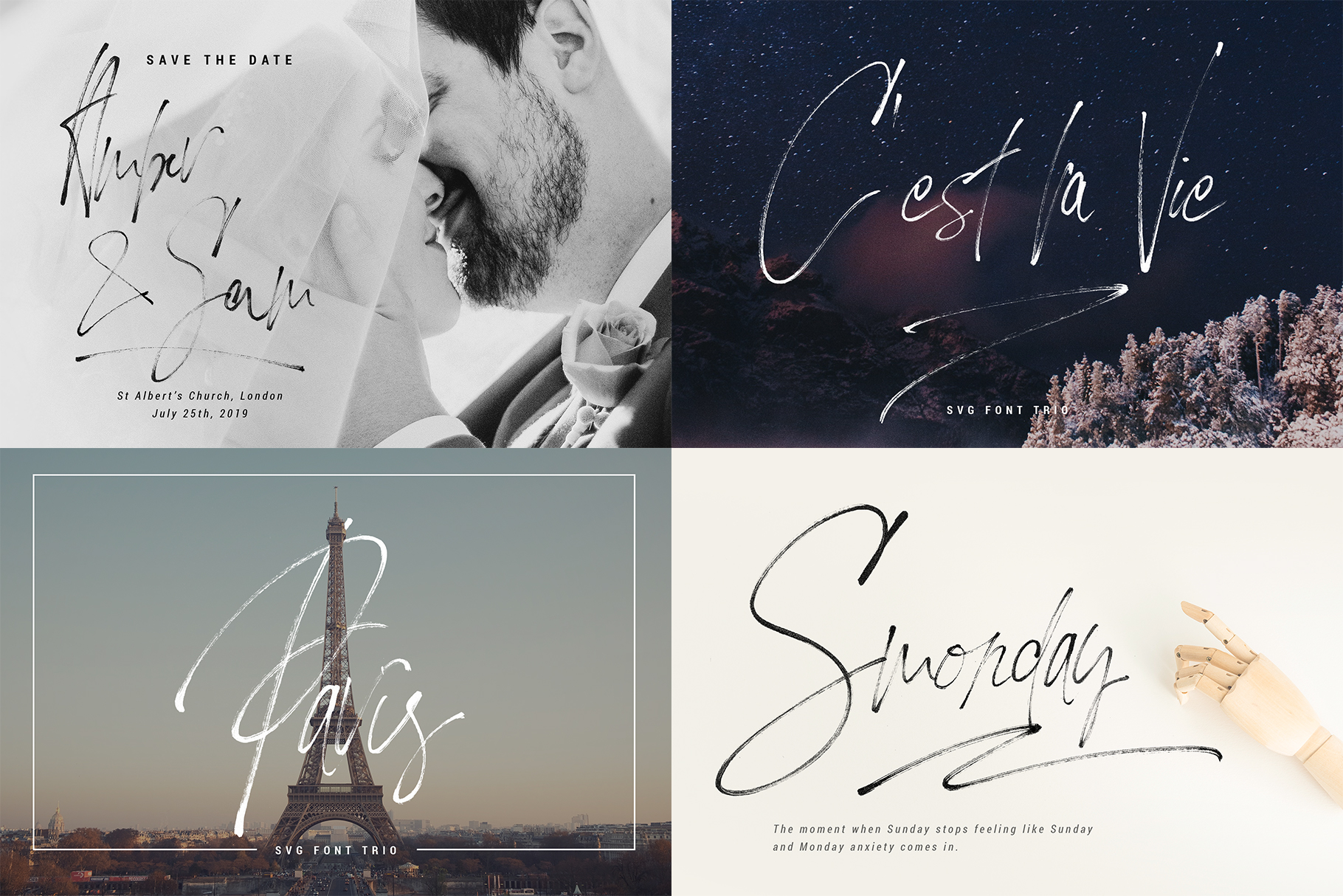 Font Bundle - Limited Time Edition With 80 Percent OFF example image 27