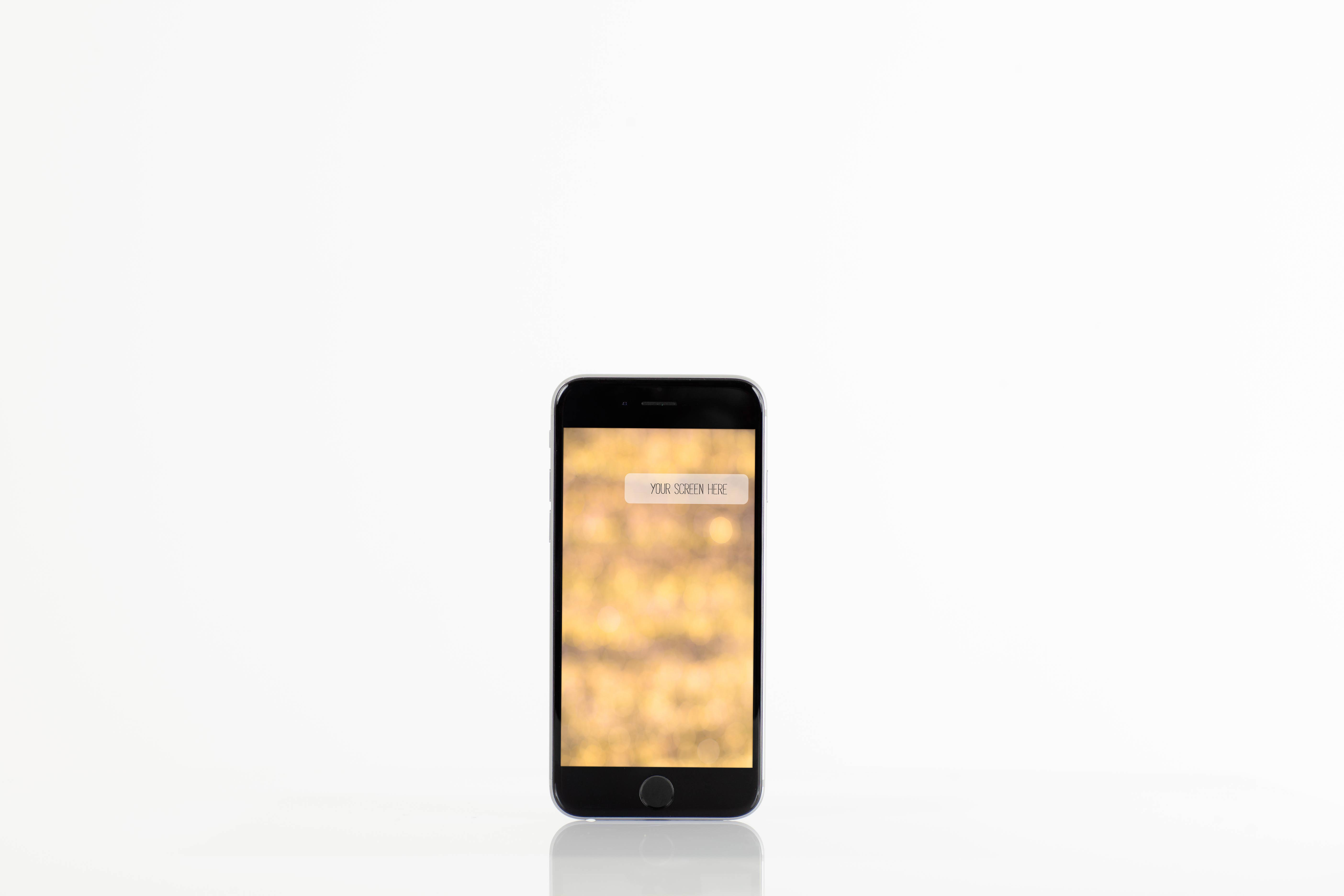 Set from 6 iPhone mockups example image 3