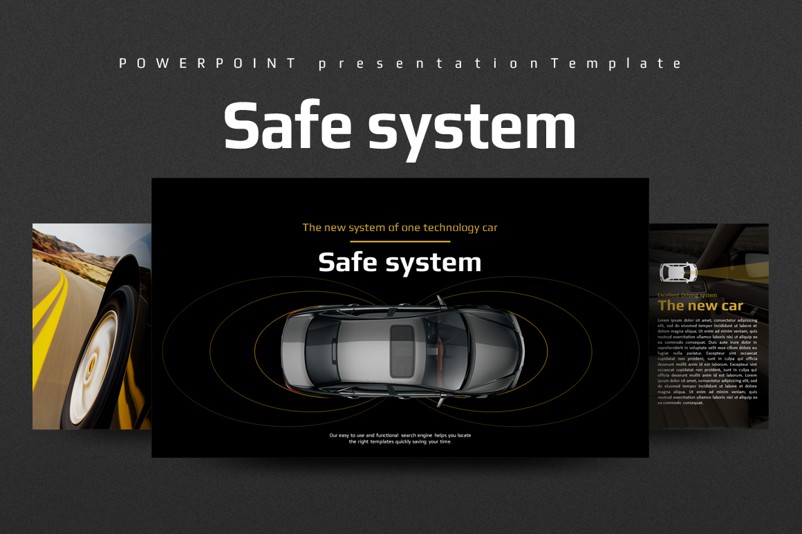 Car Safety PPT example image 1