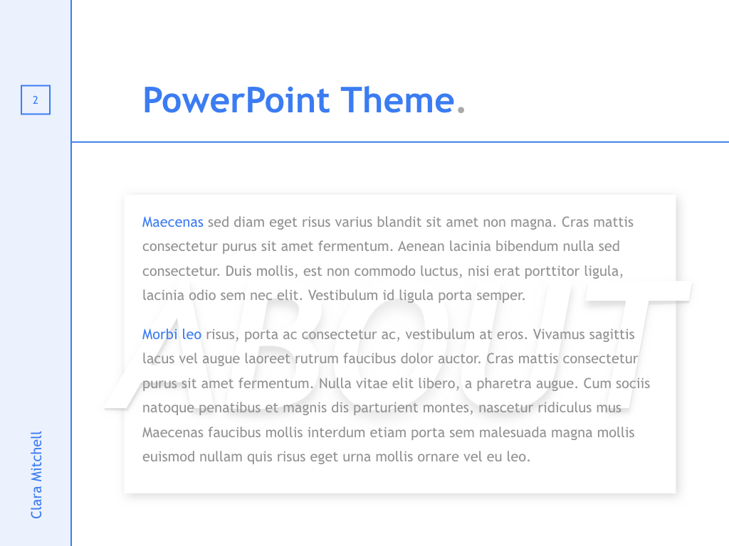 Fashion Designer PowerPoint Template example image 3