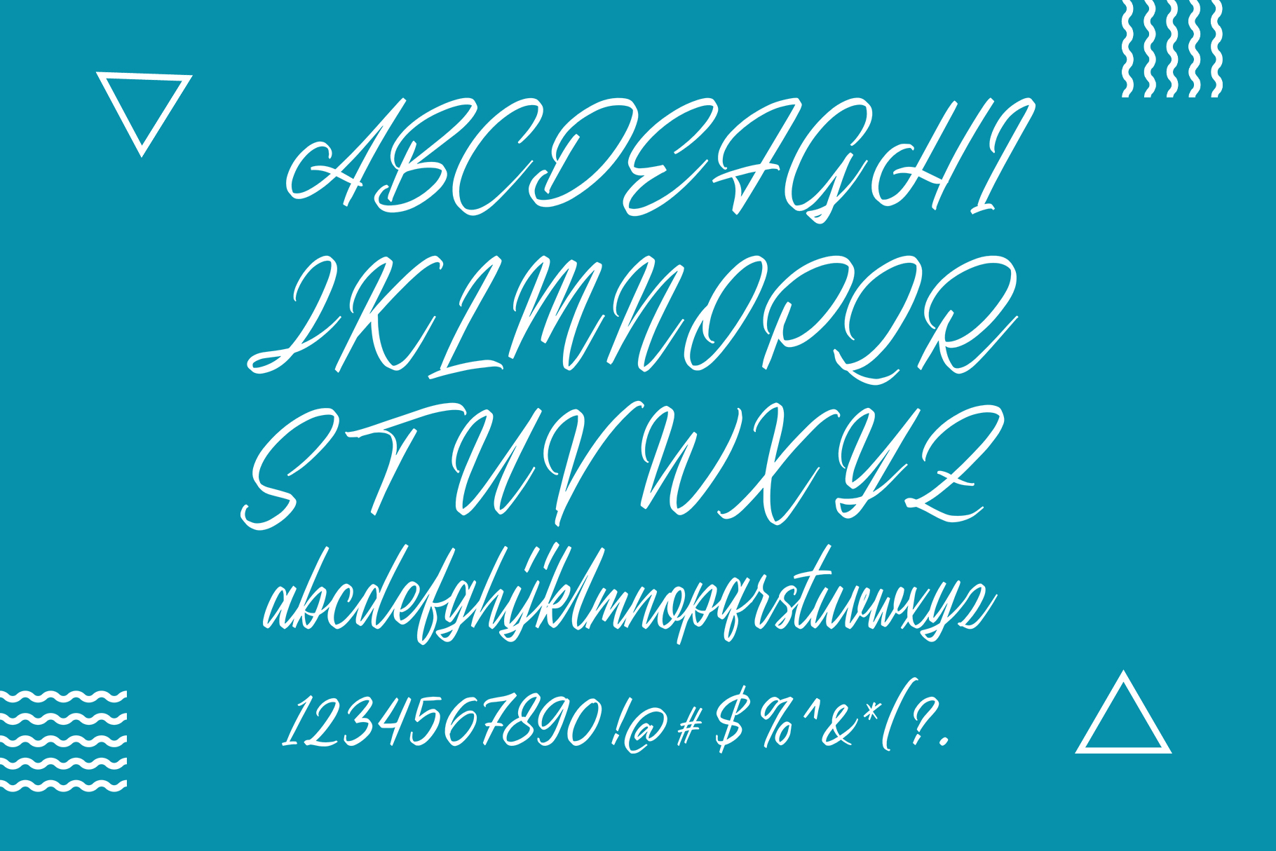 Sweet Morning - Script Font example image 7