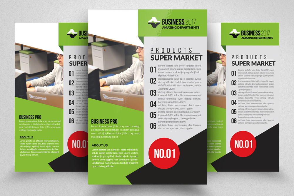 10 Corporate Psd Flyer Templates Bundle example image 8