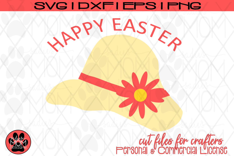Happy Easter Bonnet | SVG Cut File example image 2