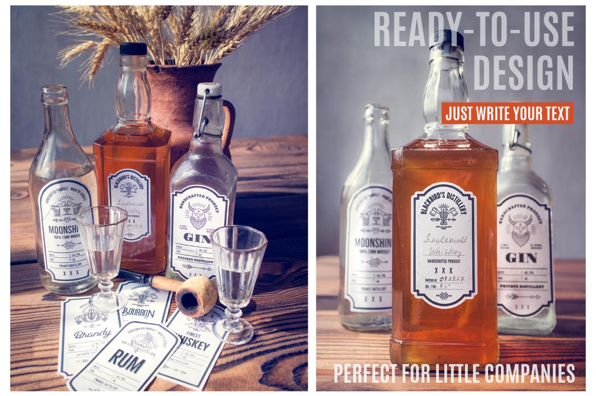 Distilling Industry: Vintage Labels example image 4