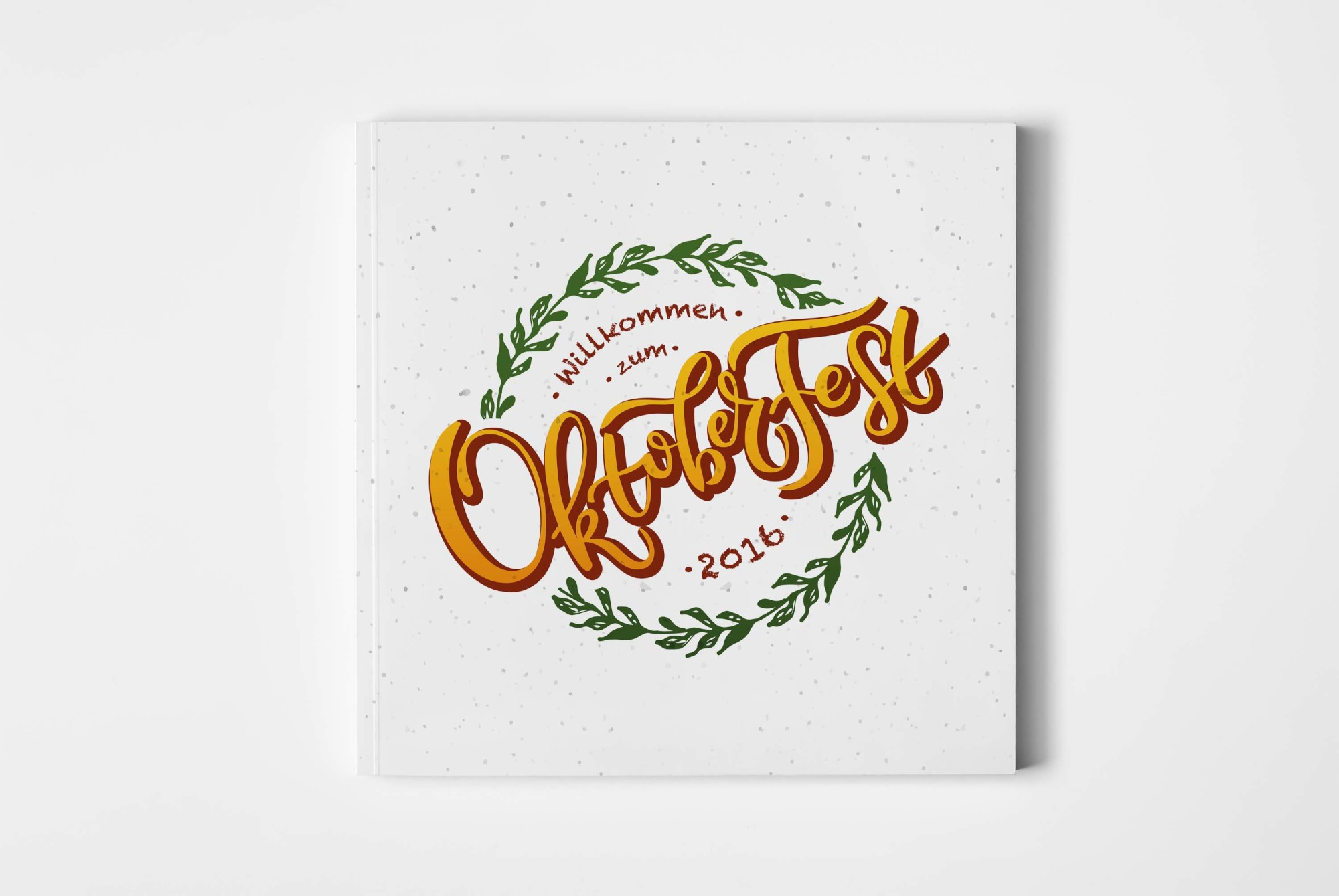 Oktoberfest Lettering Typography example image 1