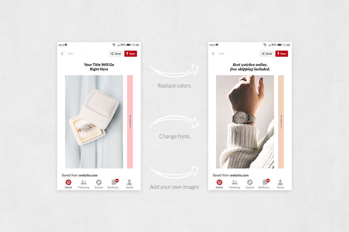 Dropshipping Pinterest Posts example image 5