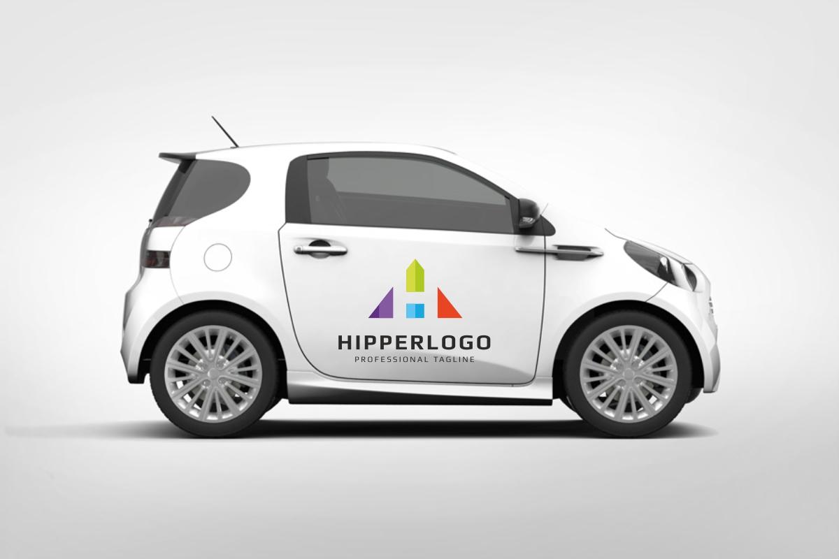 Hipper H Letter Logo example image 4