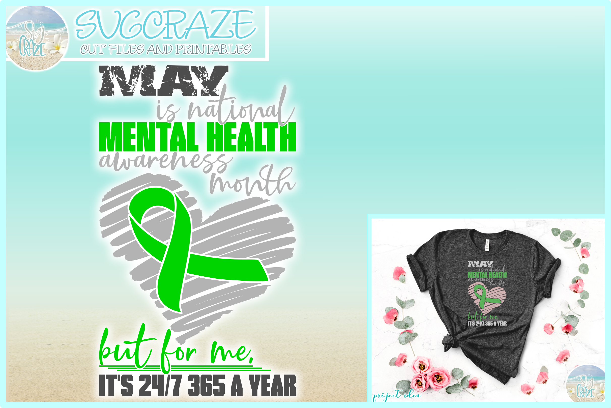 MAY is Mental Health Awareness Month But For Me Its 24 7 365 example image 1