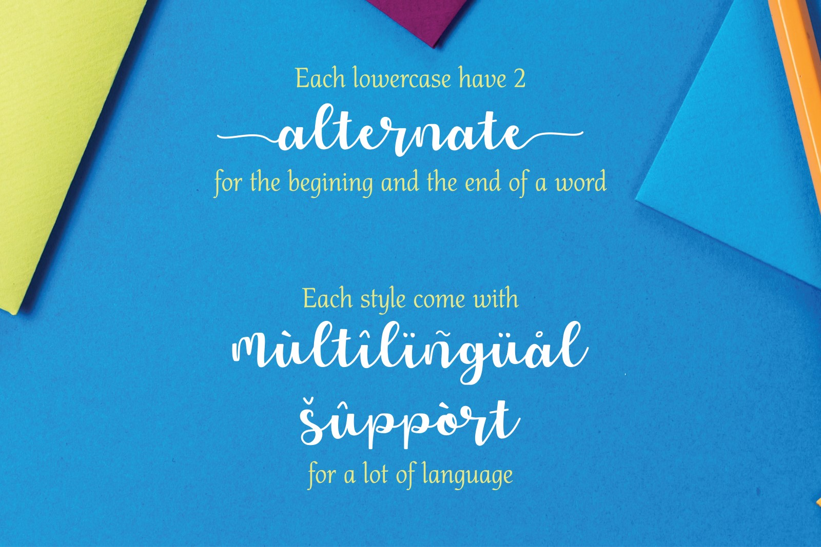 Allyca - Font Family example image 3