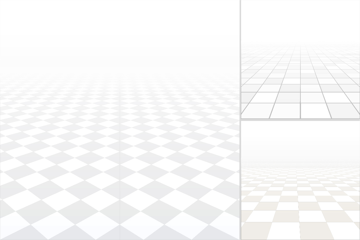 Tiled floor with perspective. example image 3