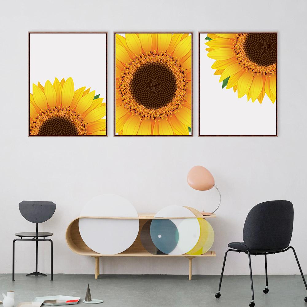 Sunflower Decor, Sunflower Wall Art, Yellow Wall Art example image 2