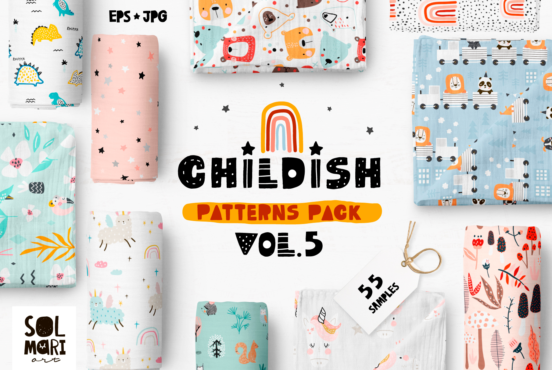 Childish patterns pack vol. 5 example image 1