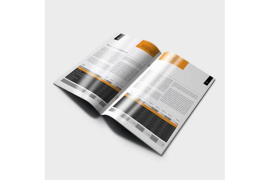 Cash Flow US Letter Statement Template example image 6