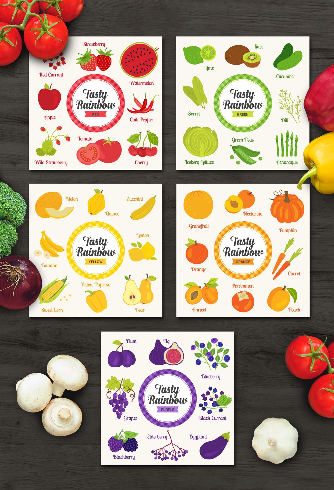 Tasty Rainbow & Bonus Patterns example image 2