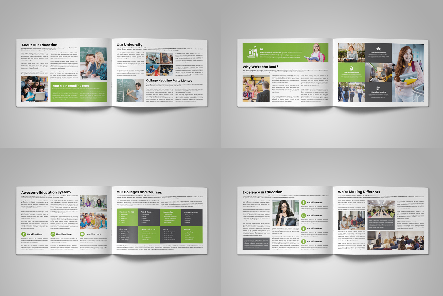 Education Prospectus Brochure v6 example image 11