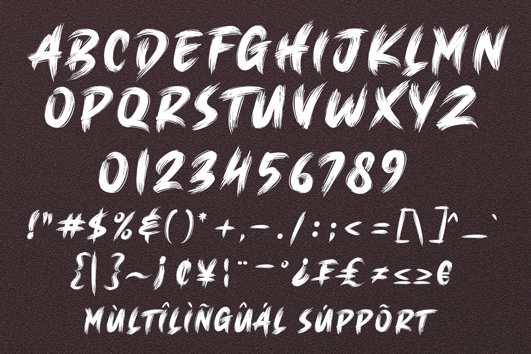 BRUSH KING / Brush Font example image 11