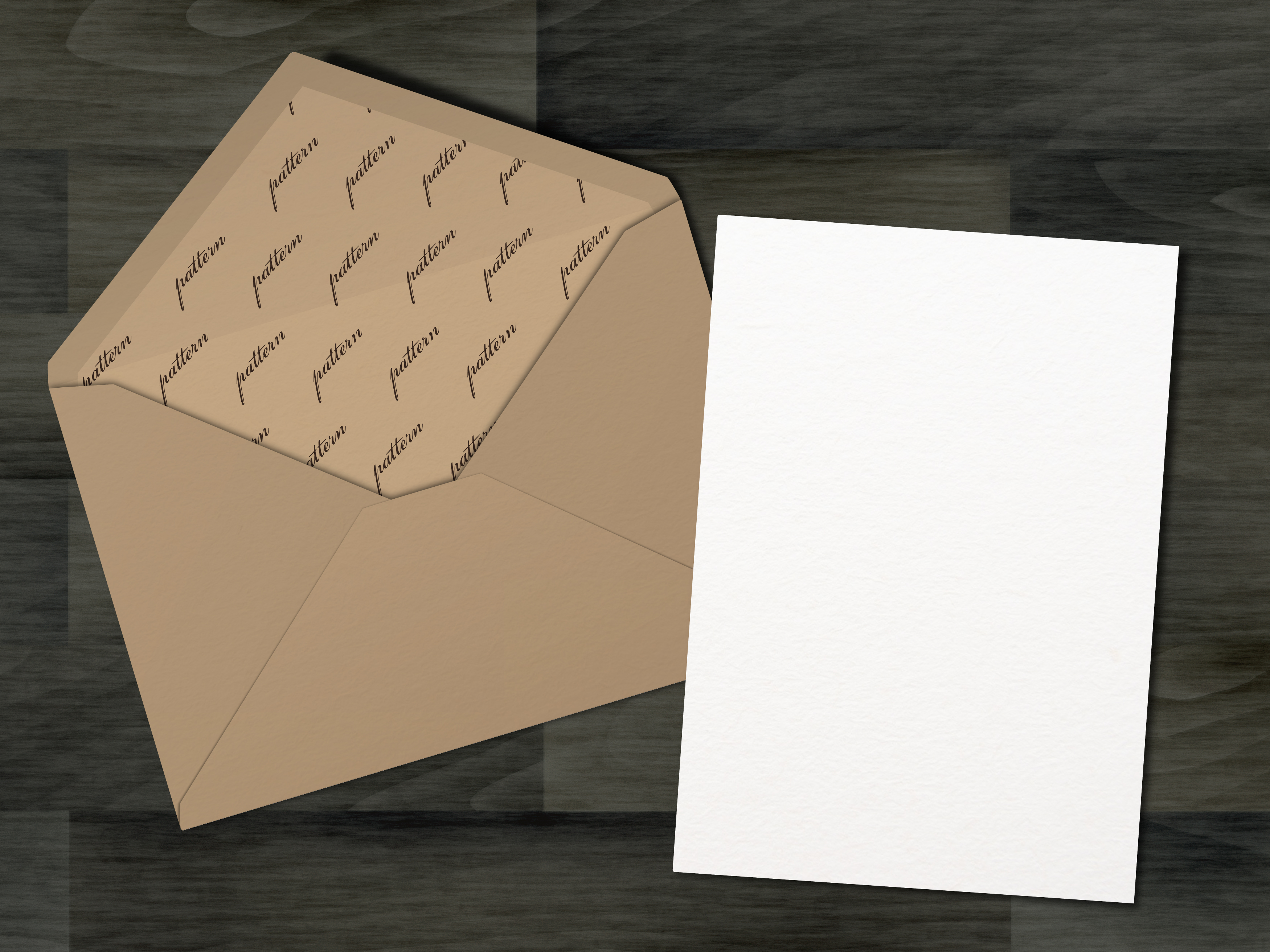 Mockup pack. Greeting Cards & Envelope. example image 4