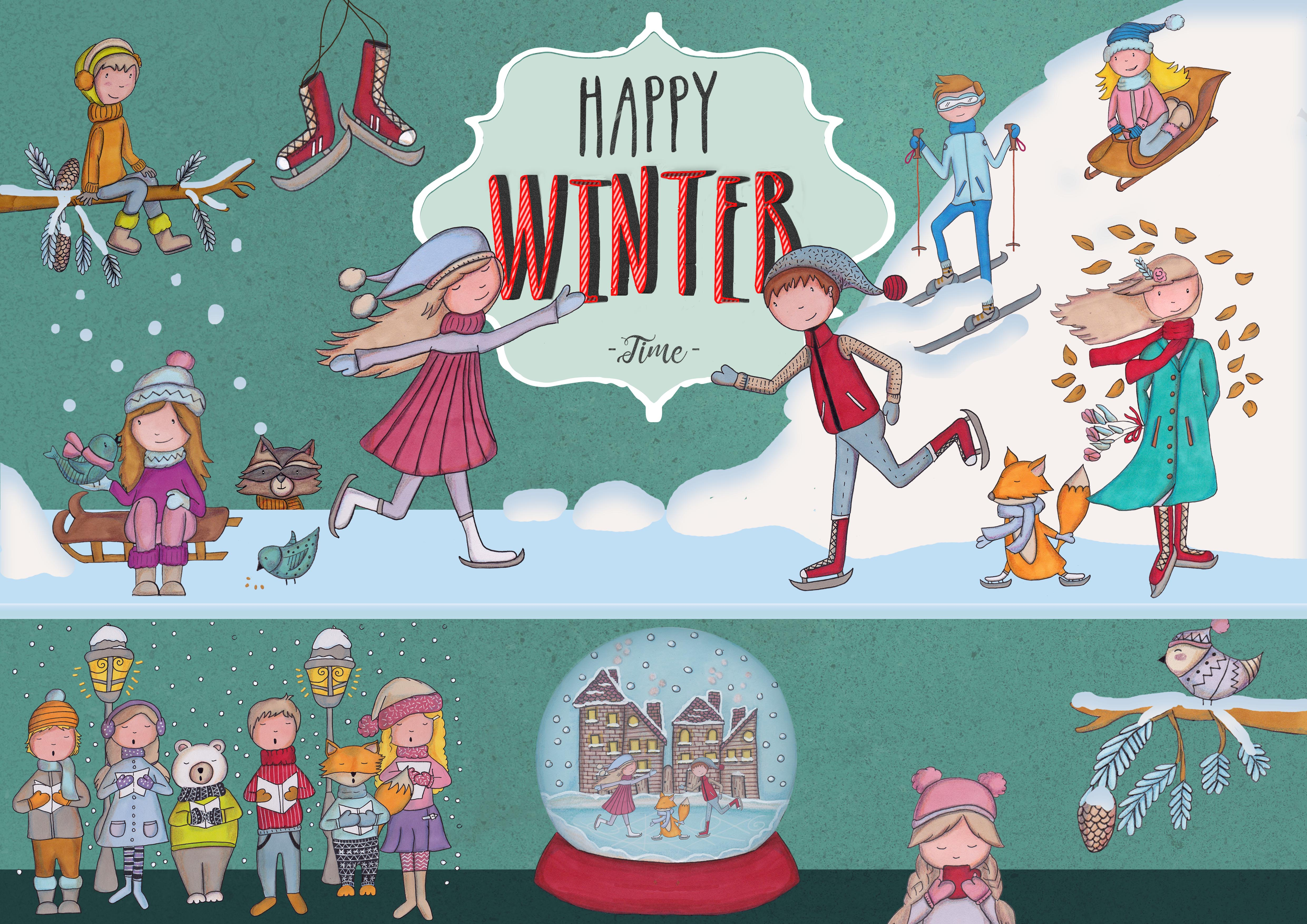 Happy Winter Time! example image 8