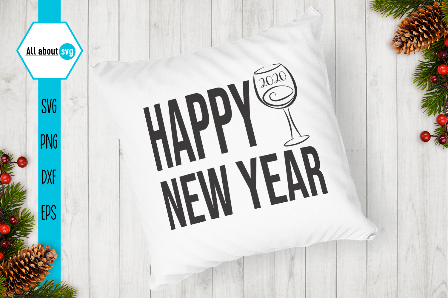 New Year Quotes Svg example image 7