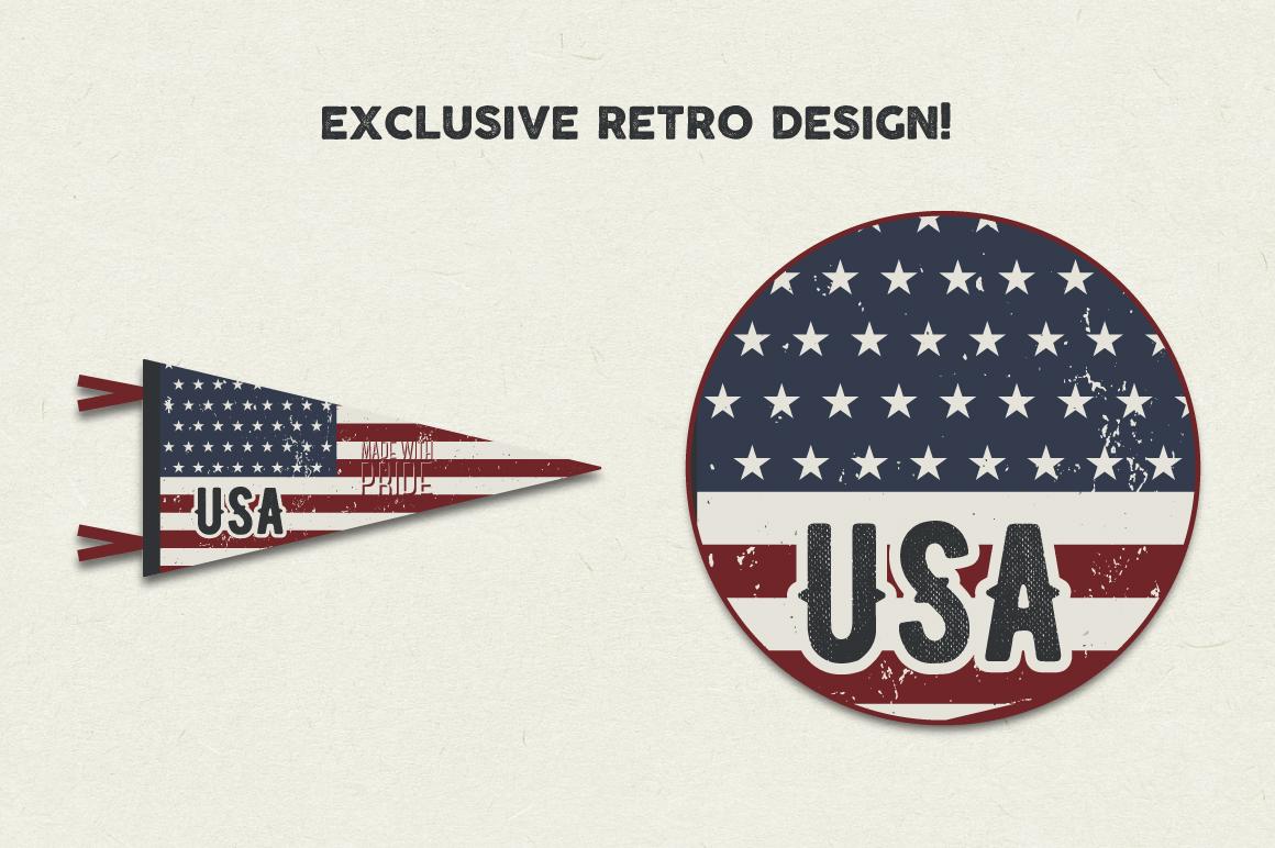 Adventure Pennants & Vintage Flags example image 2
