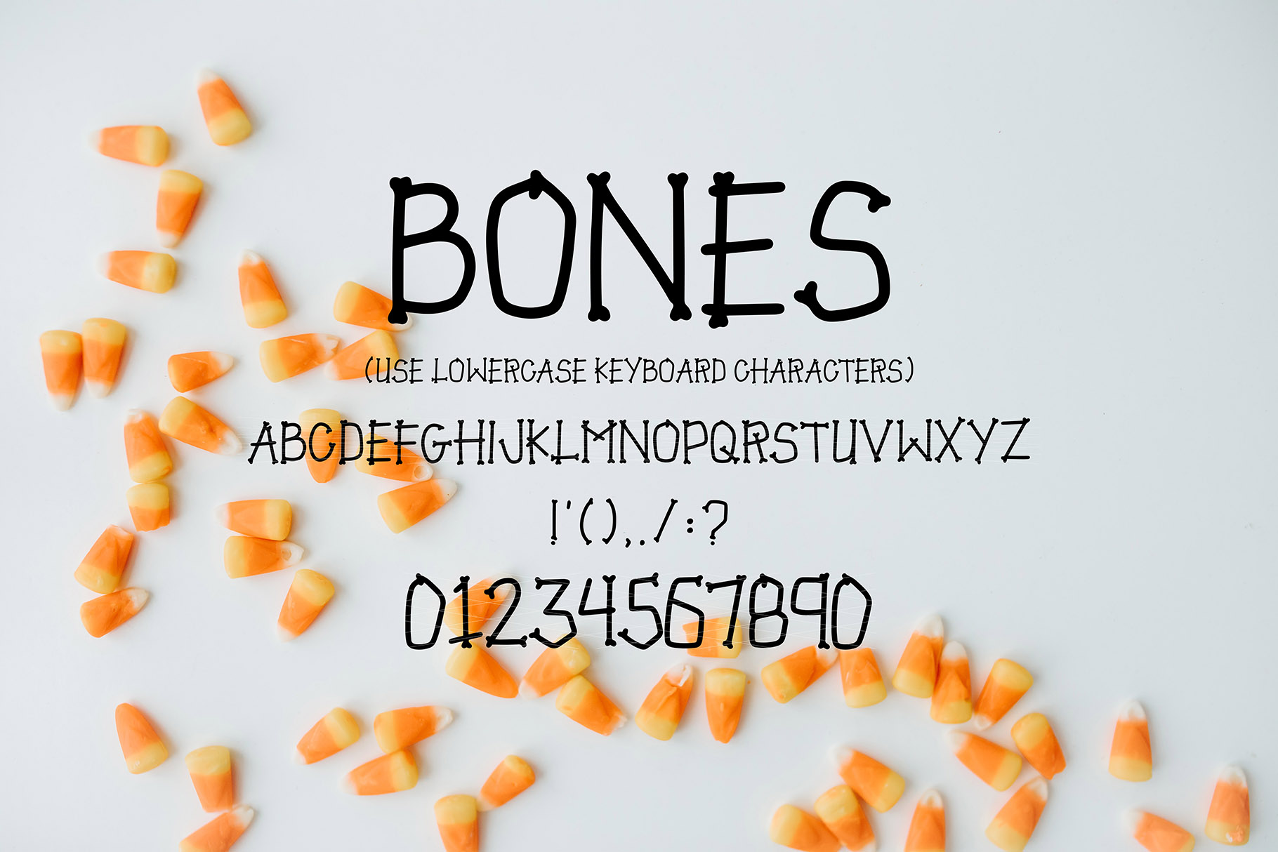 JACK MYERS a Halloween Font Family example image 5
