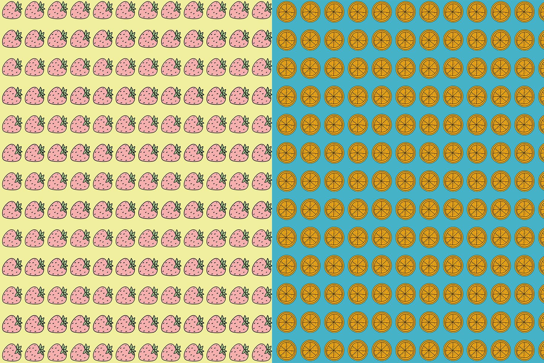 10 Fruit Patterns example image 7