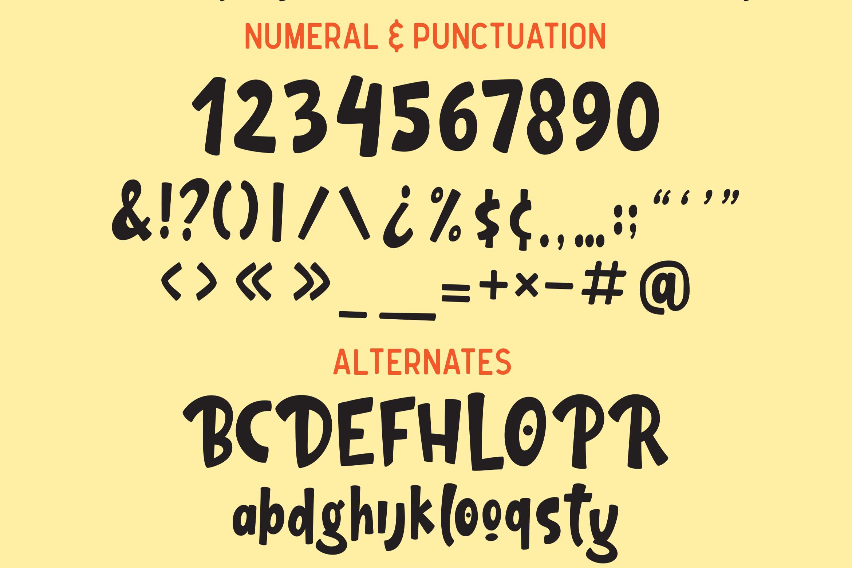 Gula - Playful Font example image 12