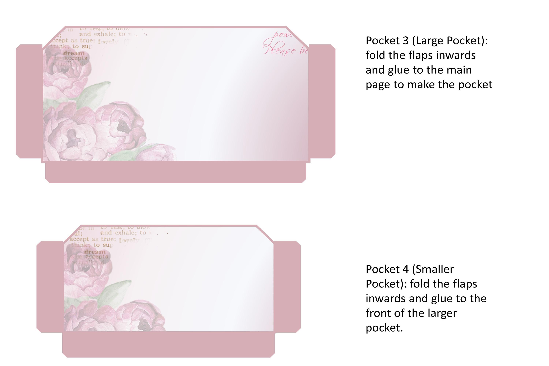 Stuffed Pockets Ephemera Kit for Journaling or Card making example image 3