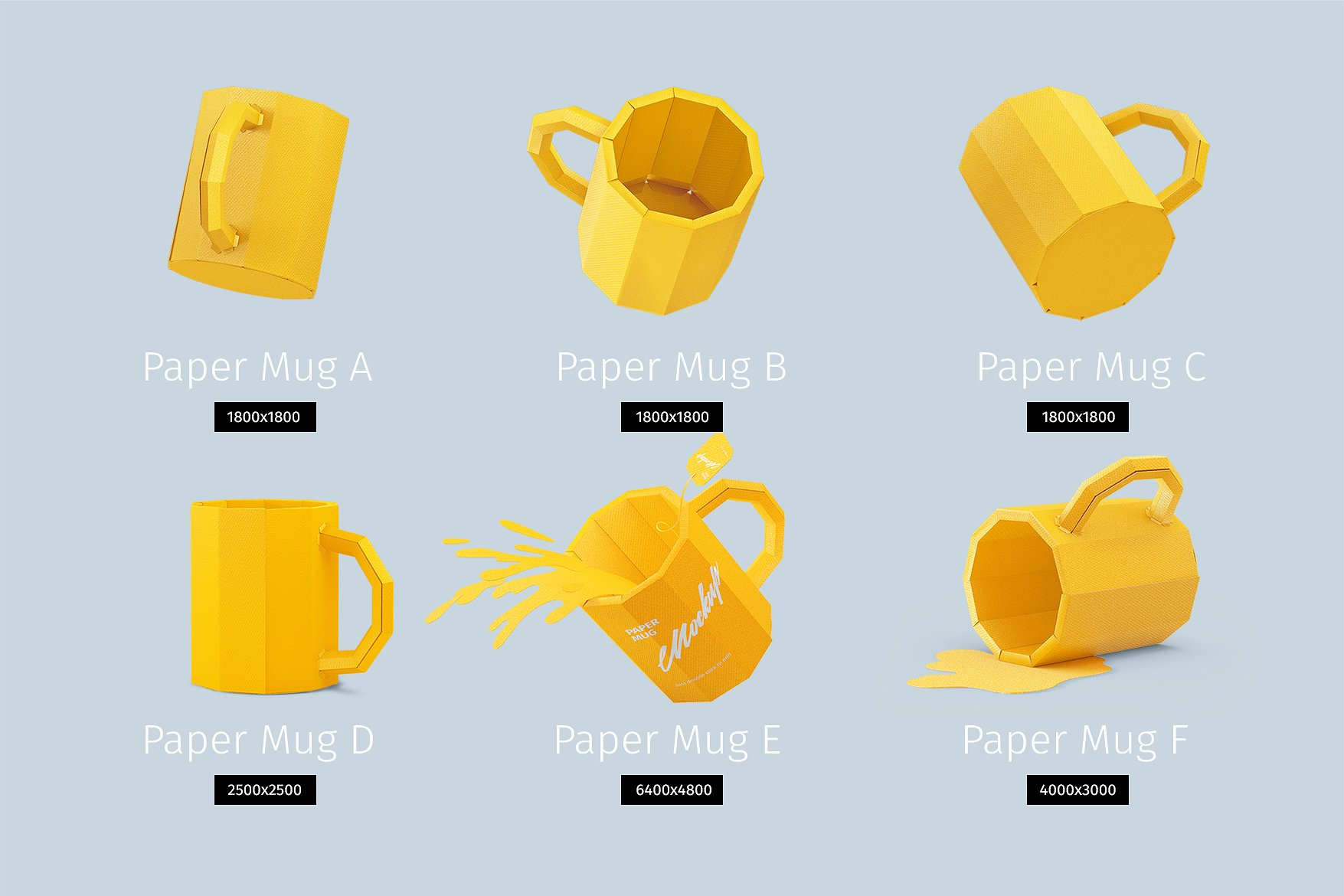 Papercraft Mugs example image 2