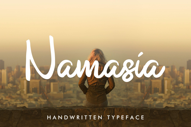 Namasia | Natural Script example image 1