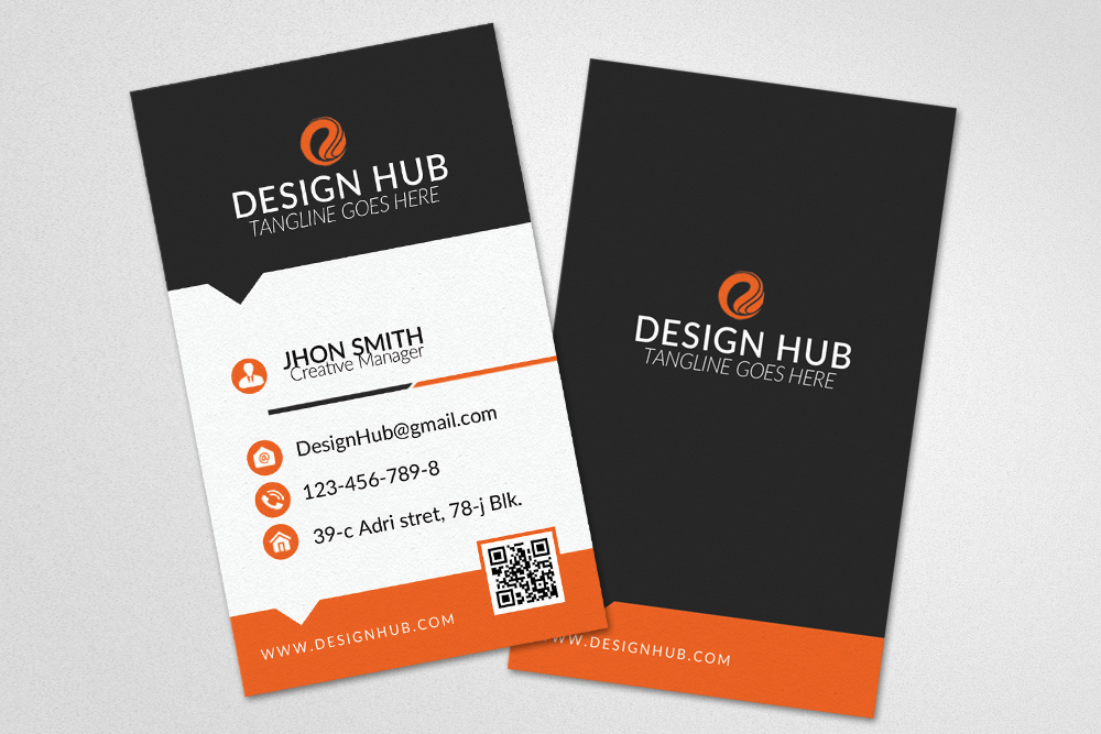 Clean Business Card Design example image 3