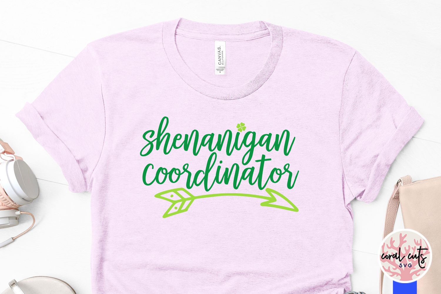 Shenanigan coordinator - St. Patrick's Day SVG EPS DXF PNG example image 3