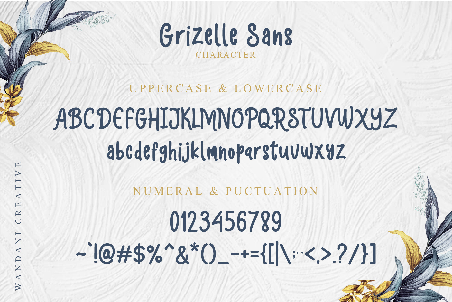 Hello Grizelle Font Duo example image 8