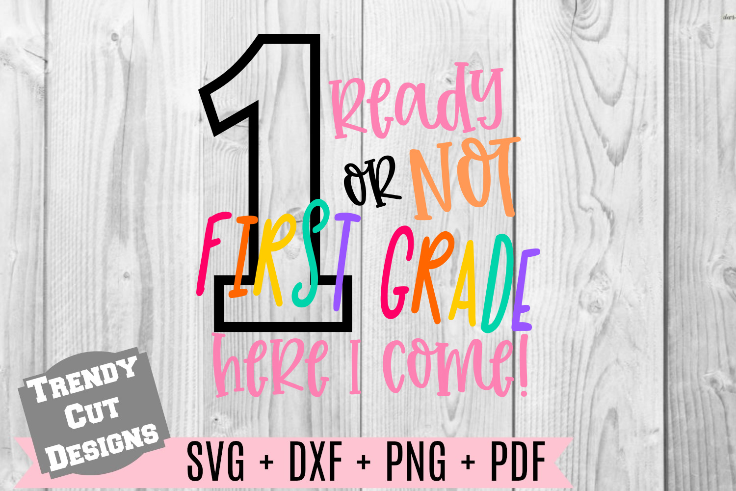 Bundle, Ready or Not here I come Back to School example image 4