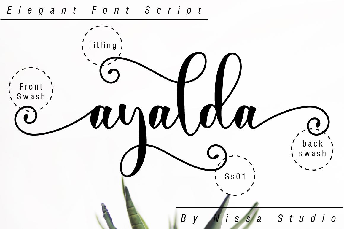 Ayalda Script example image 10