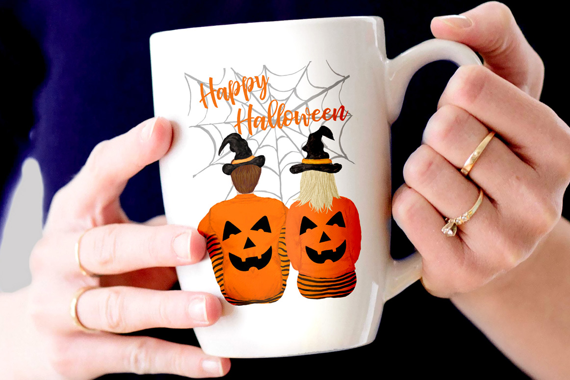 Halloween clipart, Family Clipart, Thanksgiving clipart example image 2