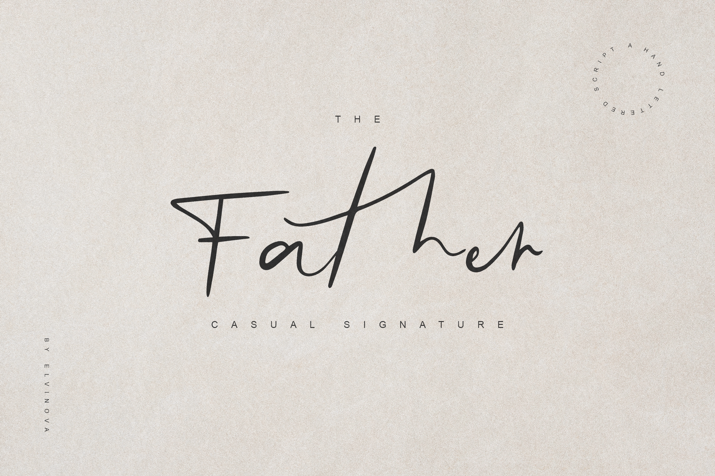 Father Casual Script Font example image 8