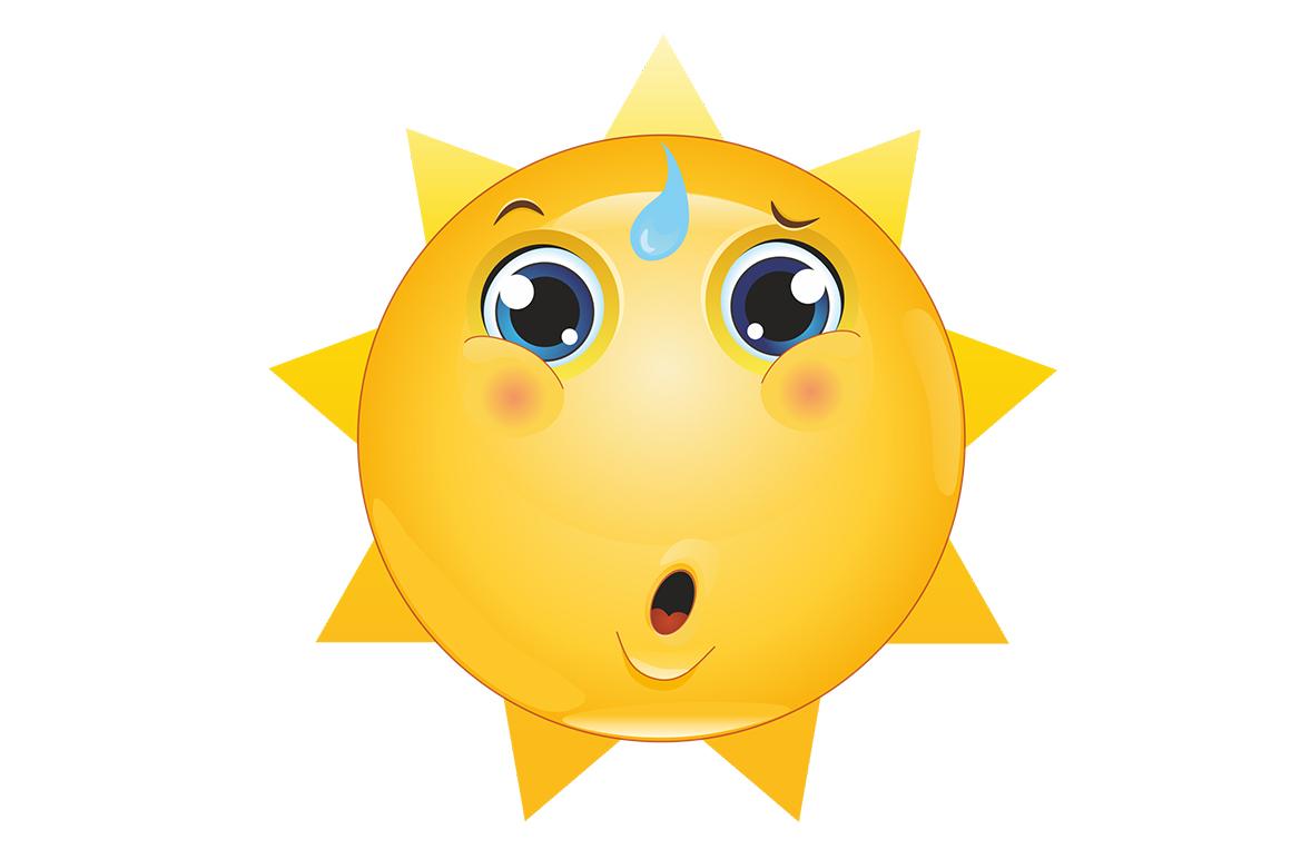 Emoticons Sun example image 2