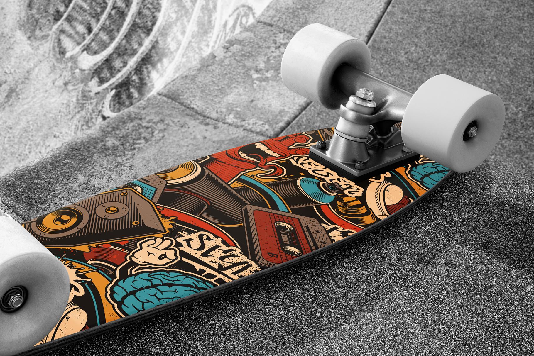 Graffiti Seamless Patterns example image 4