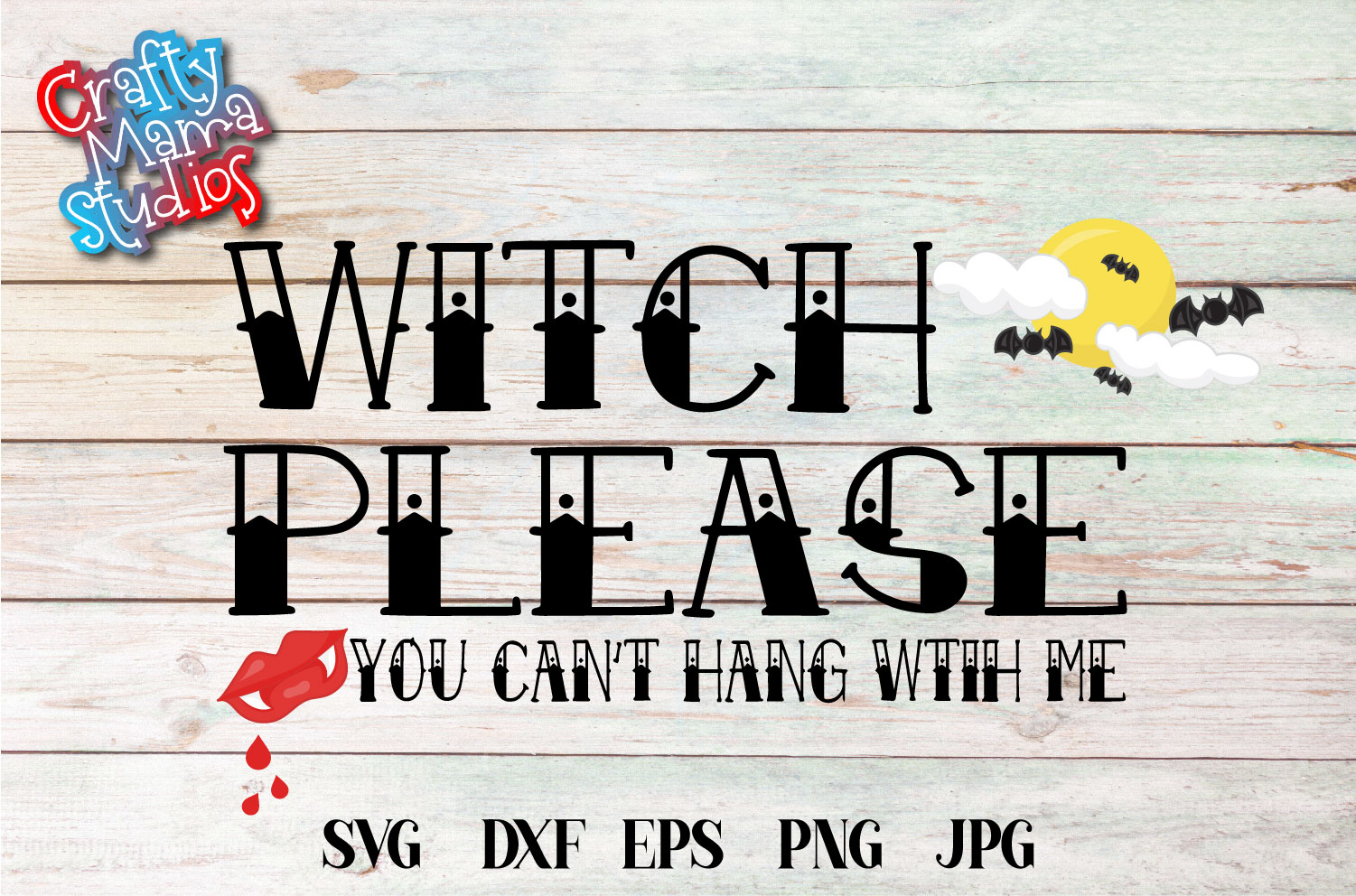Witch Please You Can't Hang With Me SVG, Halloween File example image 2