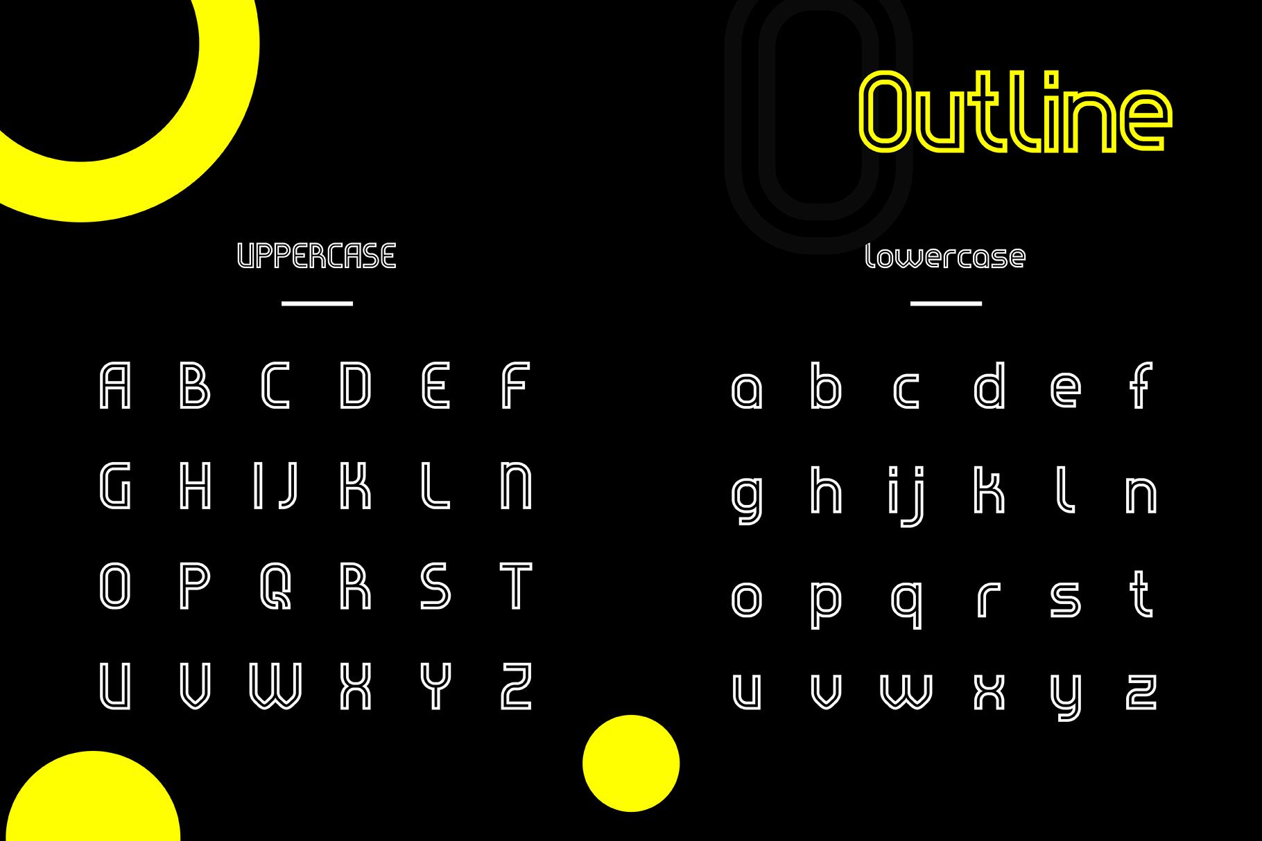 Evo - Sans&Decorative Typeface example image 3