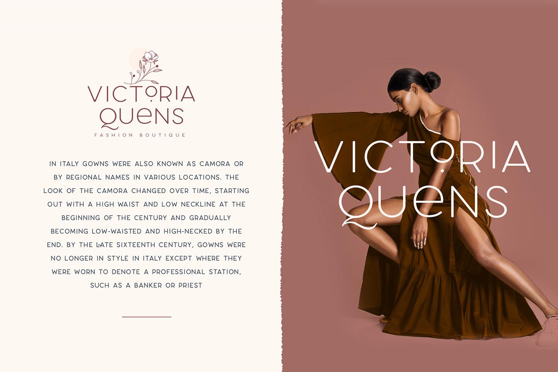 Larosa Sans- 7 Elegant Typeface example image 2