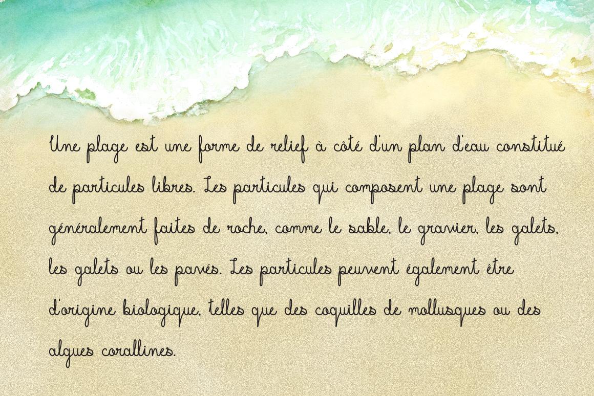 Beachline Multilingual Script Font example image 8