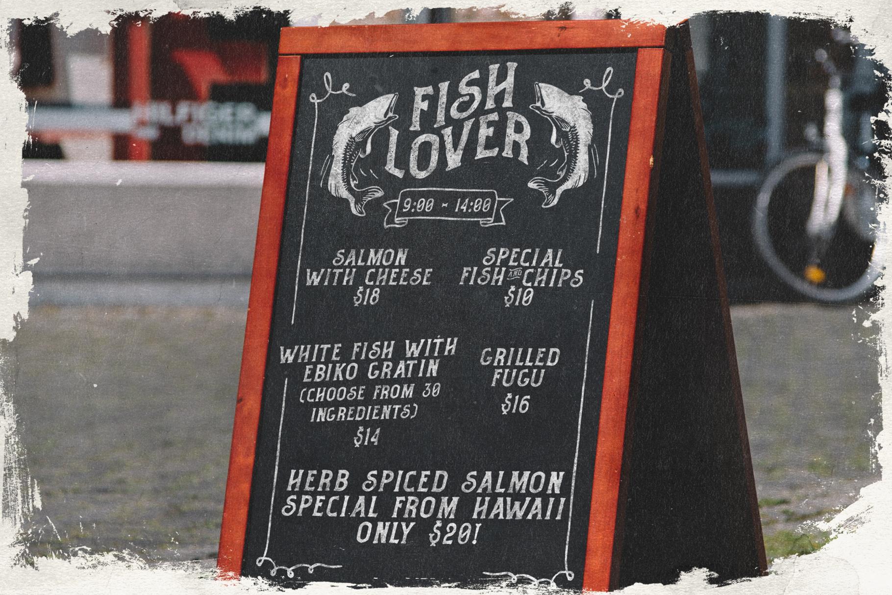 Fisherman - Vintage Ocean Font example image 6